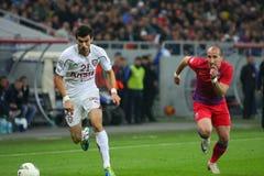 Steaua布加勒斯特-迅速布加勒斯特 库存图片