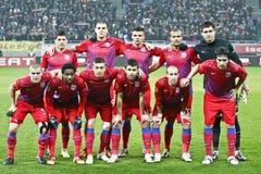 Steaua布加勒斯特AEK拉纳卡 免版税库存照片