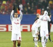 Steaua布加勒斯特Twente 库存照片