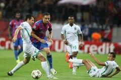Steaua Бухарест Ludogorets Razgrad Стоковое Изображение RF