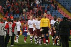 Steaua - Arsenal Stock Photos