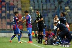 Steaua Boekarest CSU Craiova stock foto's