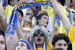 Steaua Boekarest FC Petrolul Ploiesti Stock Foto