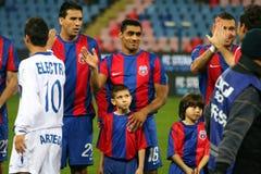 Steaua Boekarest - Pandurii tg-Jiu Stock Foto's