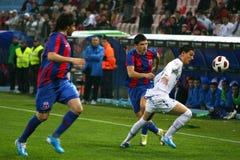 Steaua Boekarest - Pandurii tg-Jiu Royalty-vrije Stock Fotografie