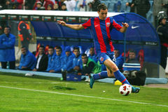 Steaua Boekarest - Pandurii tg-Jiu Royalty-vrije Stock Afbeeldingen
