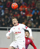 Steaua Boekarest Twente Stock Fotografie