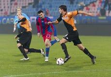 Steaua Boekarest - Utrecht (EUROPA LIGA) Stock Afbeelding