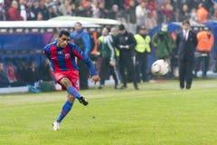 Steaua Boekarest - Utrecht (EUROPA LIGA) Royalty-vrije Stock Fotografie