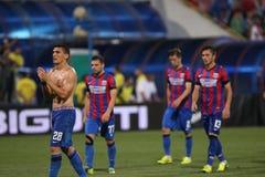 Steaua Bucarest Ceahlaul Piatra Neamt Fotos de archivo