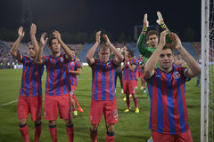 Steaua Bucarest - CFR Cluj Imagenes de archivo