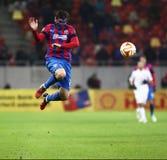 Steaua Bucarest contre Dinamo sur le stade de Ghencea Dynamo Kyiv Image libre de droits
