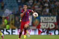 Steaua Bucarest FC Ceahlaul Piatra Neamt Fotografía de archivo libre de regalías