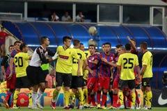 Steaua Bucarest FC Ceahlaul Piatra Neamt Imagen de archivo