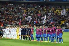 Steaua Bucarest Ludogorets Razgrad Fotografía de archivo