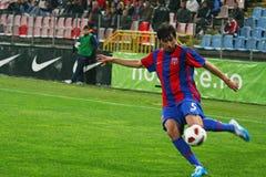 Steaua Bucarest - Pandurii Tg-Jiu Fotografía de archivo