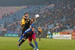 Steaua Bucarest - Utrecht (LEGA del EUROPA) Immagine Stock
