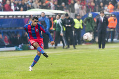 Steaua Bucarest - Utrecht (LIGUE d'EUROPA) Photographie stock libre de droits