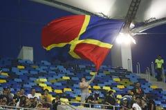Steaua Bucarest Vardar Skopje Imágenes de archivo libres de regalías