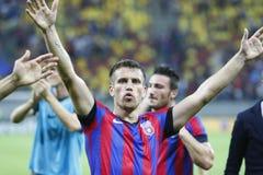 Steaua Bucarest Vardar Skopje Fotos de archivo libres de regalías