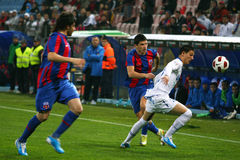 Steaua Bucareste - Pandurii Tg-Jiu Fotografia de Stock Royalty Free
