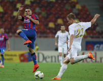 Steaua Bucharest- Aktobe Royalty Free Stock Image