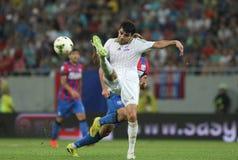 Steaua Bucharest- Aktobe Royalty Free Stock Images