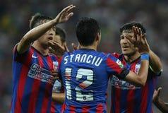 Steaua Bucharest- Aktobe Stock Photos