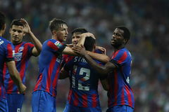 Steaua Bucharest- Aktobe Stock Photos