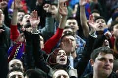 FC Steaua Bucharest FC Gaz Metan Medien Lizenzfreies Stockbild