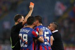 Steaua Bucharest- Ceahlaul Piatra Neamt Royalty Free Stock Photo