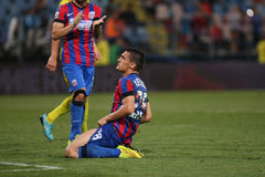 Steaua Bucharest- Ceahlaul Piatra Neamt Royalty Free Stock Images