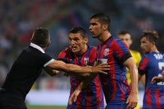 Steaua Bucharest- Ceahlaul Piatra Neamt Stock Photo