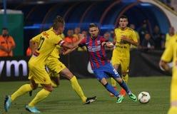 Steaua Bucharest- Ceahlaul Piatra Neamt Royalty Free Stock Photography