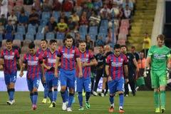Steaua Bucharest- Ceahlaul Piatra Neamt Stock Images
