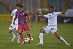 Steaua Bucharest - CFR Cluj Royalty Free Stock Photo