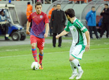 STEAUA BUCHAREST-CONCORDIA CHIAJNA, ROMANIAN LEAGUE 1 Stock Photography