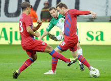 STEAUA BUCHAREST-CONCORDIA CHIAJNA, ROMANIAN LEAGUE 1 Stock Photo