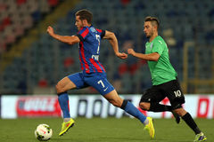 Steaua Bucharest CSU Craiova Obrazy Royalty Free
