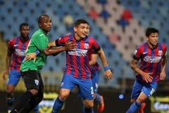 Steaua Bucharest CSU Craiova Arkivfoton