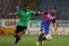 Steaua Bucharest- CSU Craiova Stock Photos