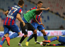 Steaua Bucharest- CSU Craiova Royalty Free Stock Photo