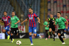 Steaua Bucharest- CSU Craiova Royalty Free Stock Photos