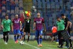 Steaua Bucharest- CSU Craiova Stock Images