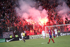 Steaua Bucharest - Dinamo Bucharest Royalty Free Stock Image