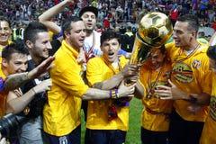 Steaua Bucharest FC Brasov Royaltyfri Bild