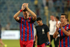 Steaua Bucharest- FC Ceahlaul Piatra Neamt Royalty Free Stock Photography