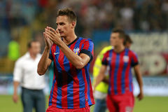 Steaua Bucharest- FC Ceahlaul Piatra Neamt Royalty Free Stock Image