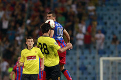 Steaua Bucharest- FC Ceahlaul Piatra Neamt Stock Image