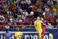 Steaua Bucharest FC Petrolul Ploiesti Arkivbild